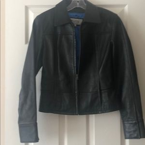 Wilsons Black leather jacket great condition